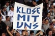 Klose has distanced itself from a poster of supporters of Lazio