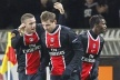 PSG lie Saint Etienne and winter at the top