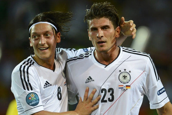In Germany: Mario Gomez is a hero