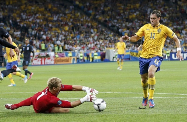 Elmander and Elm miss the match of Sweden with France