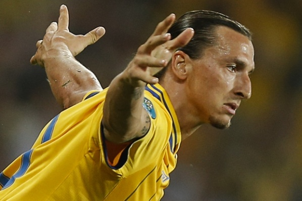 Ibrahimovic the best in the match between Sweden and France