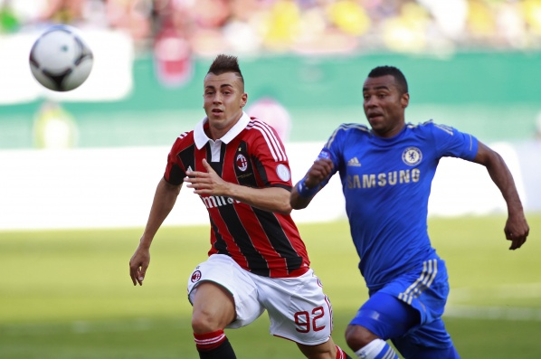 "Milan lied Chelsea and cause second consecutive defeat of the ""blues"""