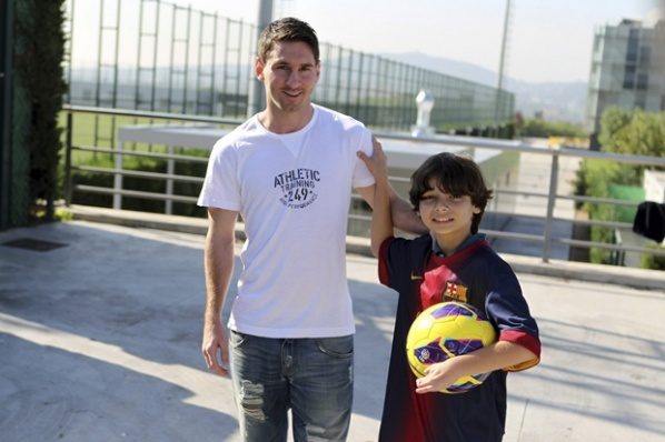 Barcelona offer new contract to Messi