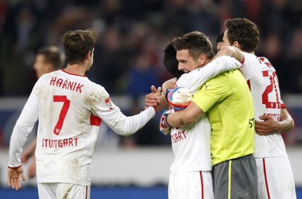 Stuttgart beat Eintracht with a goal at the end