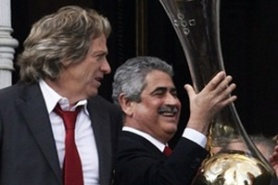 Filipe Vieira will manage Benfica another three years
