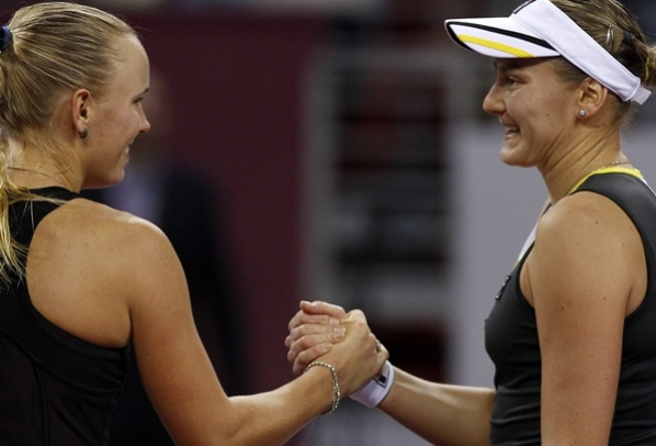 Wozniacki: Petrova played great and deserved to win