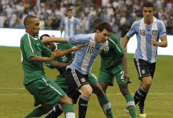 The magic of Messi has not worked in Saudi Arabia