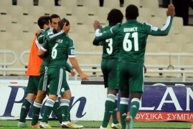 Panathinaikos stumbled PAOK, did good service for Olympiakos