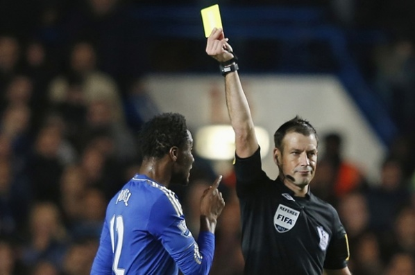 In England decided to record the conversations of the referees