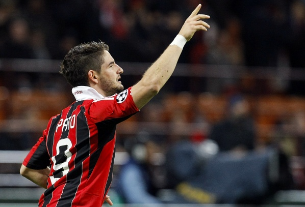 Pato with injury, missed the derby against Juventus