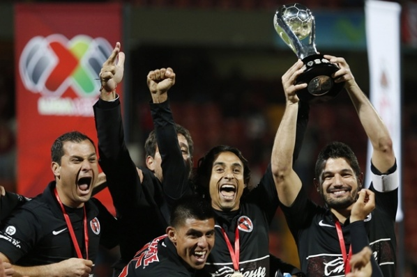 Tijuana lifted historic first title of Mexico