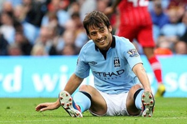 David Silva questionable for the Manchester derby