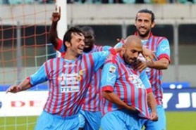 Catania saved themselves against nine people of the second division team