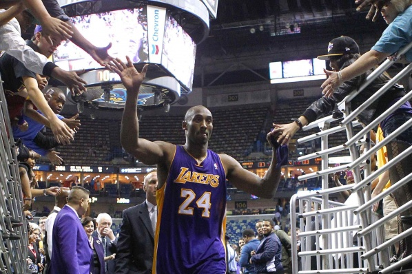 The legend: Kobe Bryant became the youngest, who scored 30,000 points
