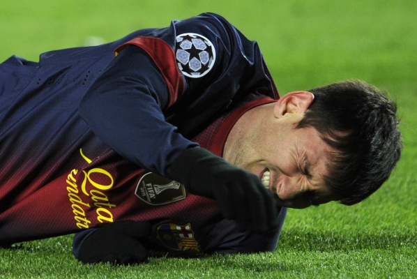 Messi urgency in hospital, his injury seemed to be not so scary