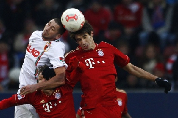 Javi Martinez is injured, drove him to hospital