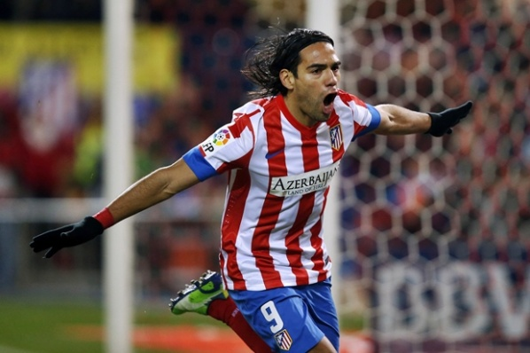 Florentino Perez may attract Falcao at Real, in the same way he took Zidan