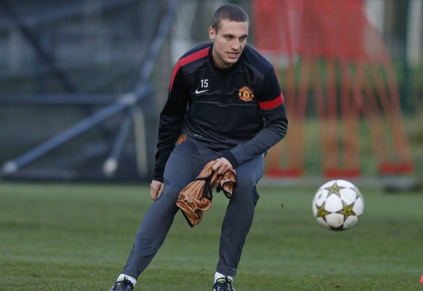 "Vidic in line for United against ""the Black Cats"""