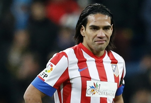 Falcao ready for the derby against Barcelona