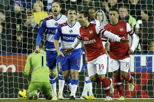 Reading and Arsenal scored again bag full of goals
