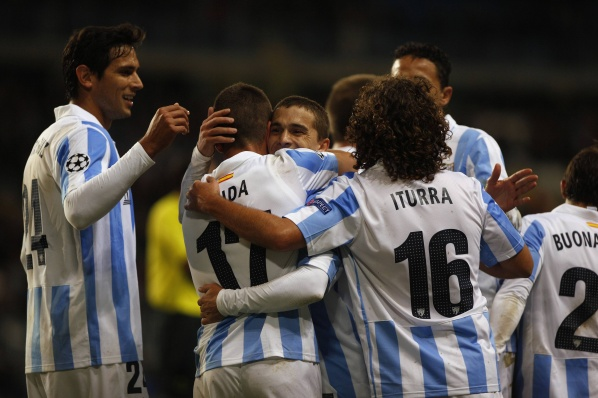 The unbeaten in the Champions League Malaga tortured against team from the third division