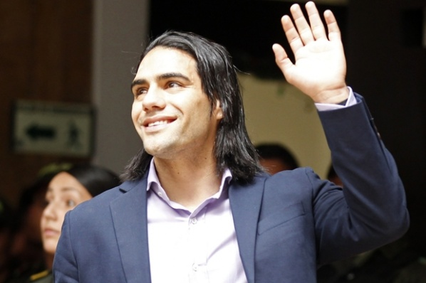 Falcao was named as the best player in the world