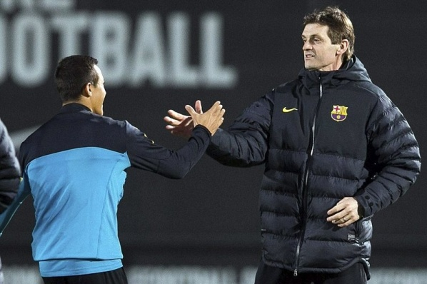 "Good news: Tito is back at ""Camp Nou"""