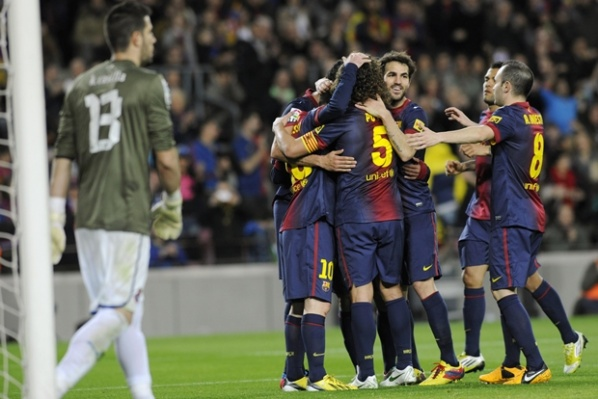 Barca started the year with four goals in the Catalan derby and Villanova on the bench