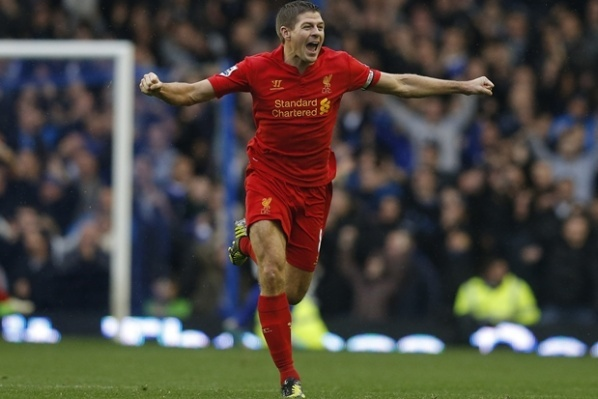 Stevie G: I will not say if score with hand to United, contrary - I will be happy