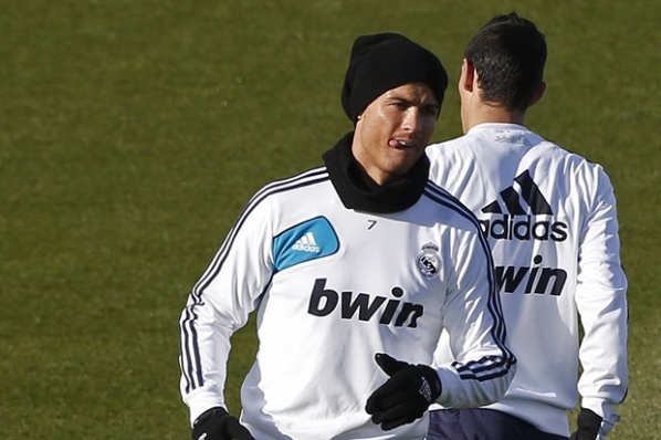 Ronaldo and Adán returned to the group of Real
