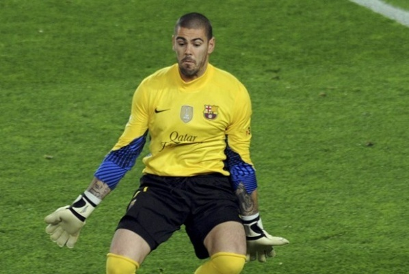 Victor Valdes refused to Barca