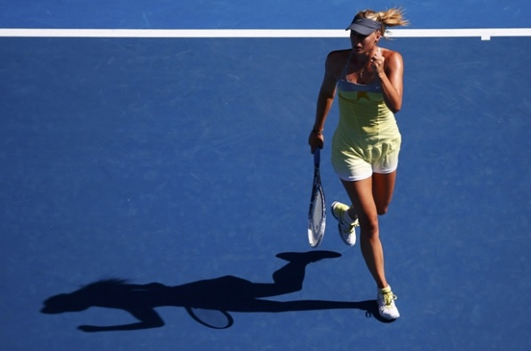 Sharapova - Makarova is the first 1/4-final in the ladies in Melbourne