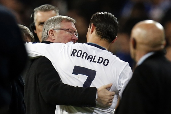 Sir Alex: When the ball is in Ronaldo, you can only pray, but now everything is in our hands