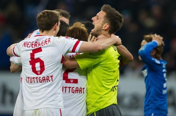 Stuttgart stopped the black series, Hoffenheim sink more