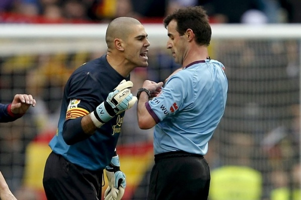 Only four matches penalty for Victor Valdes