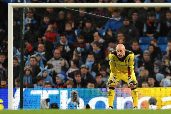 Reina and Carragher on line for Liverpool Villa