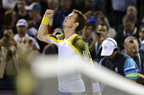 Andy Murray wins the final in Miami