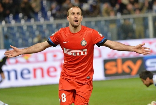 Inter loses Rodrigo Palacio for one month