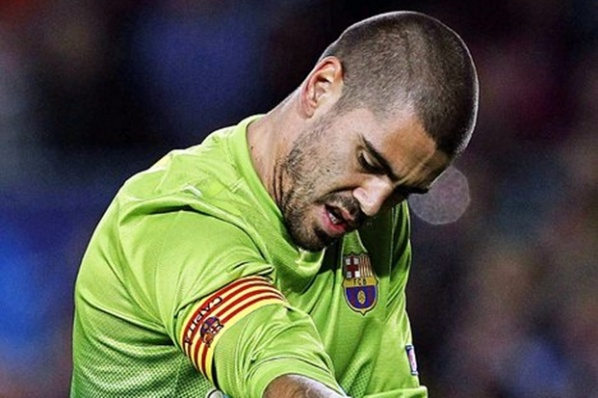 Vilanova insists Valdez to stay another year in Barcelona