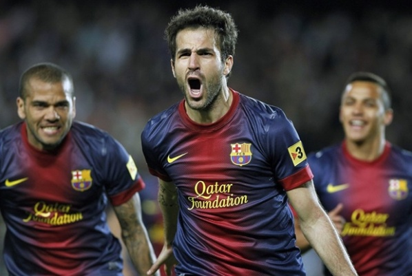 Manchester United started negotiations for Fabregas