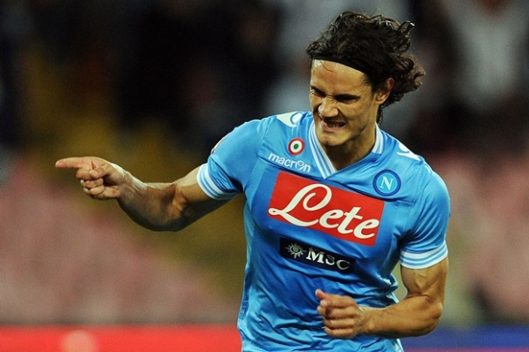 Cavani began to swing about Real