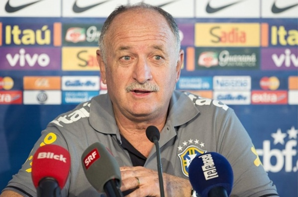 Scolari accused Barcelona in a lie