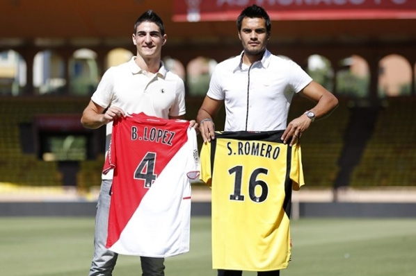 Monaco presented Romero and Borja Lopez