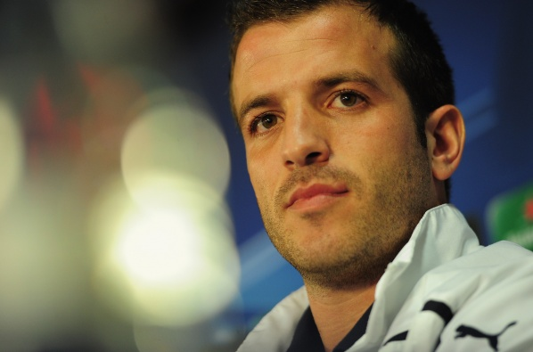 Netherlands remained without Van der Vaart for the matches against Estonia and Andorra