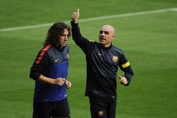 The returning of Puyol is postponed