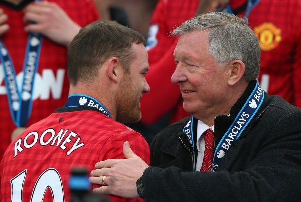 Wayne Rooney accused Ferguson for his bad shape