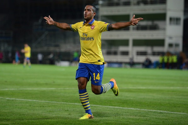 Cazorla and Walcott will return to play for Arsenal
