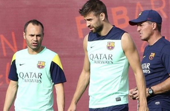 Pique is still questionable for El Clasico