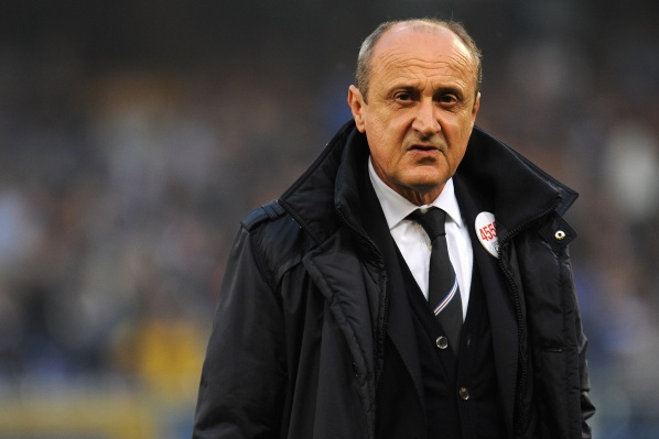 Sampdoria released Delio Rossi