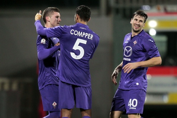 Fiorentina qualify for the 1/4-final for the Italian Cup